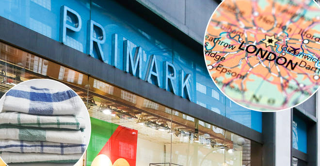 Primark was forced to take their tea towels off the shelves