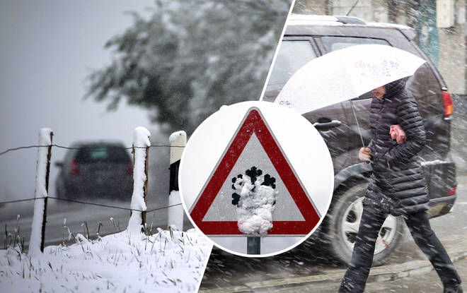 UK Weather: Snow to blast Britain this month as we're to expect the 'coldest winter in 50 years'