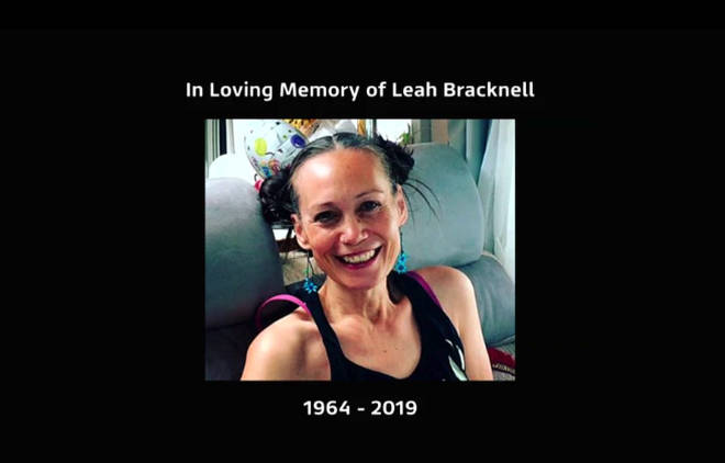 Emmerdale shared a tribute to Leah Bracknell