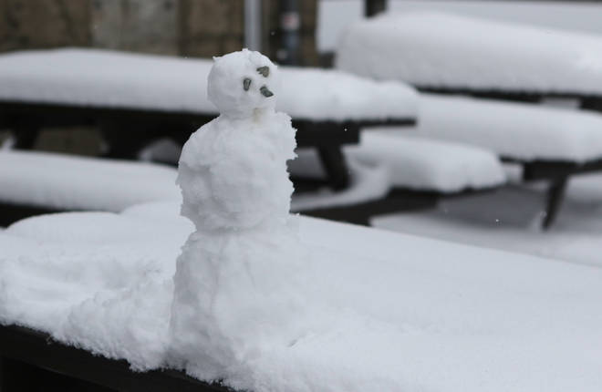 Winter is well on its way, according to reports