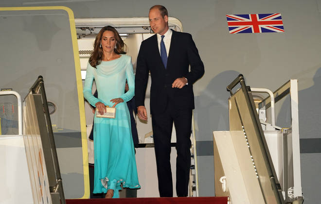 It was down to the British High Commission officials to reorganise the couple's strategically planned tour