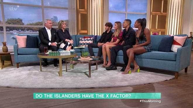 The Islanders appeared on This Morning earlier today