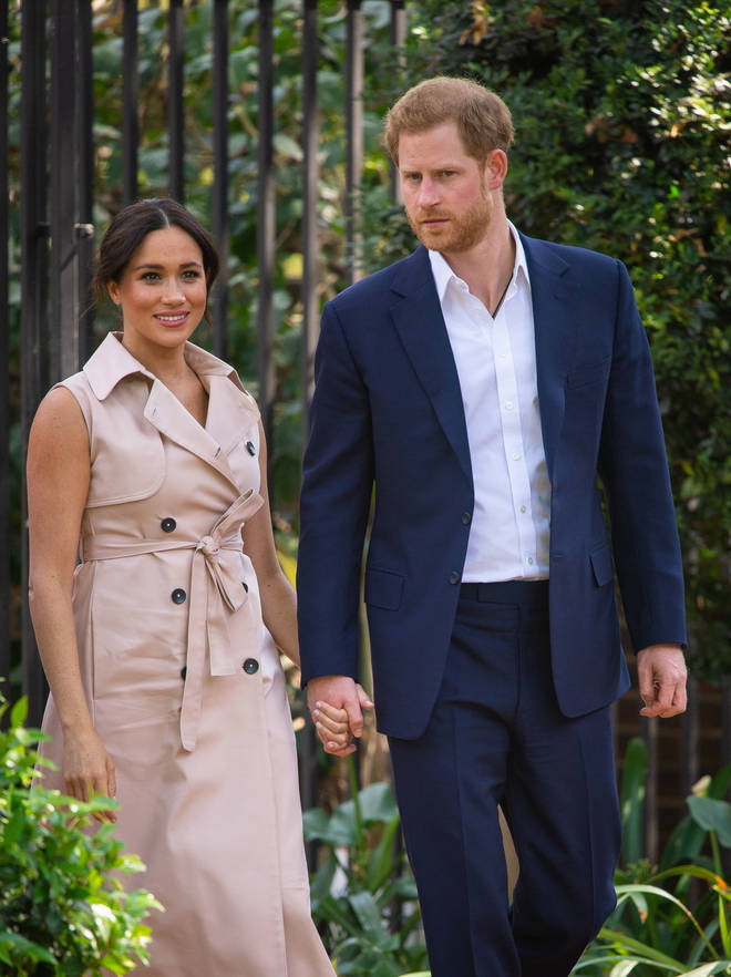 The couple did interviews during their time on the Royal Tour