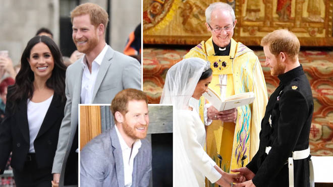 The royal pair posted the adorable photo on social media.