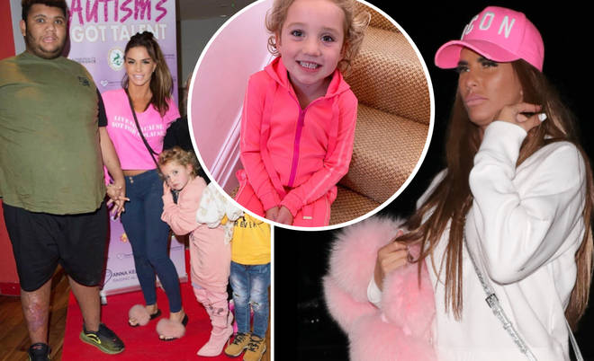 Katie has come under fire for letting her daughter Bunny wear heels.