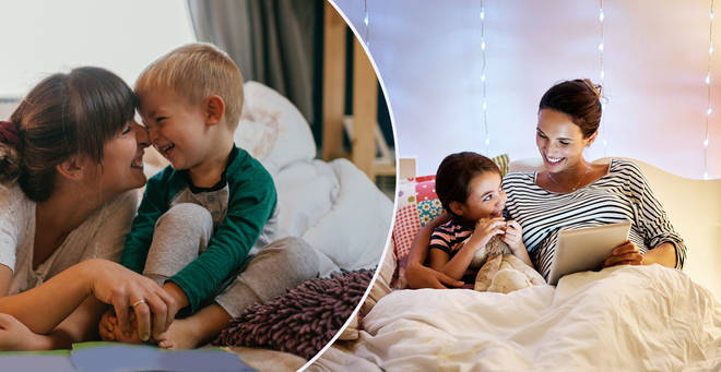 The tradition of bedtime reading could be coming to an end (stock images)