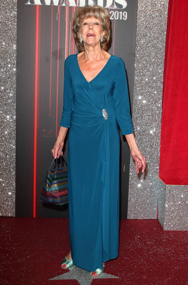 Sue Nicholls was written out of Corrie after her appearance at the Soap Awards
