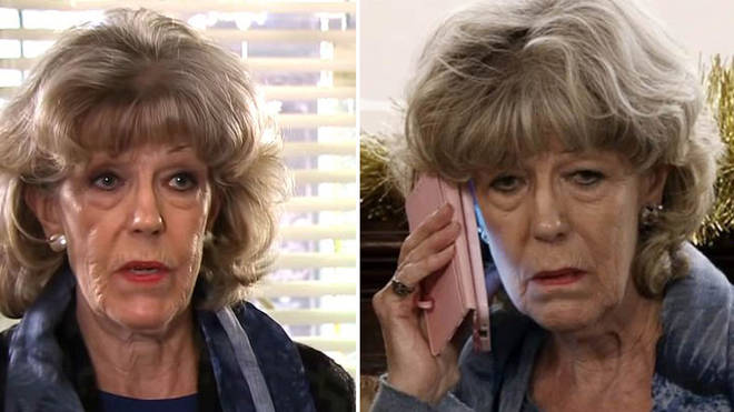 Sue Nicholls has spoken out about her scary fall