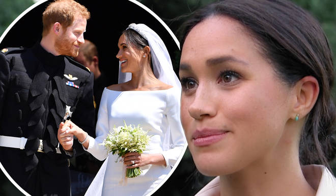 Meghan Markle looked close to tears are she spoke about royal life