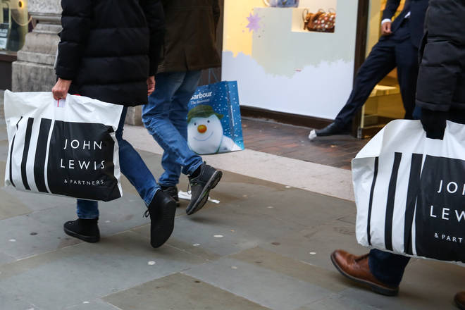 John Lewis shoppers won't find glitter on their Christmas crackers in 2020