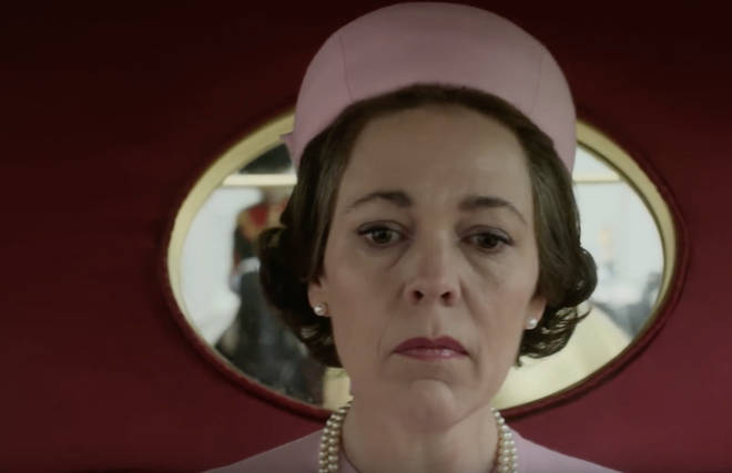 Olivia Colman does a voiceover through the trailer