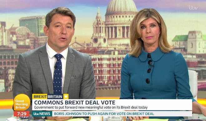 Ben Shepard and Kate Garraway replaced Piers and Susanna