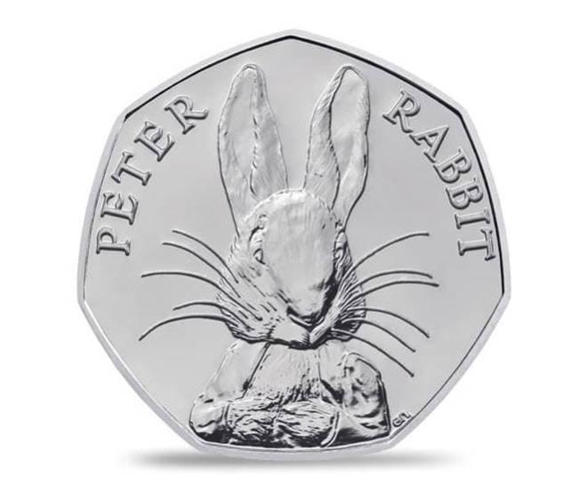 Peter Rabbit coin