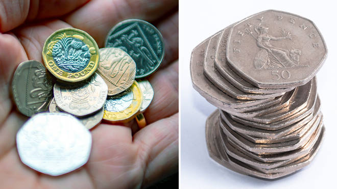 The rarest 50ps in circulation have been revealed