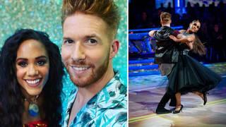 Alex Scott and Neil Jones have denied romance rumours