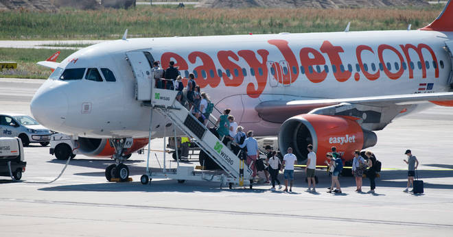 EasyJet staff refused to let him on the plane