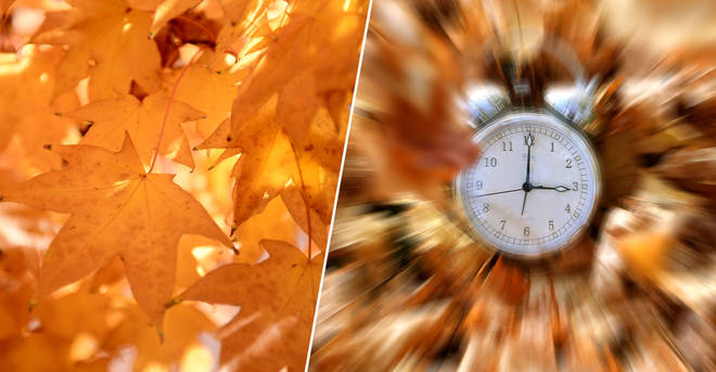 The clocks will go back this weekend