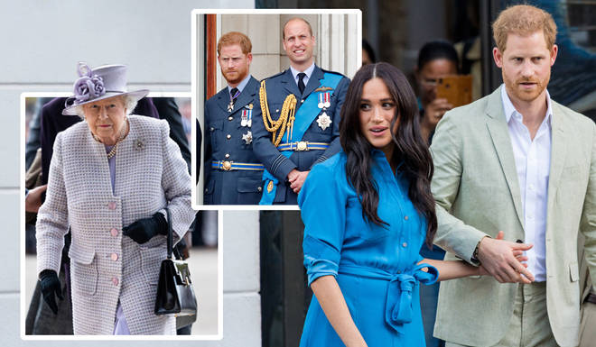 Senior members of the Royal family are said to be concerned about the Duke and Duchess of Sussex