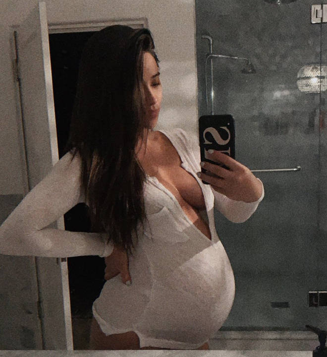 Shay whilst heavily pregnant, still looked absolutely incredible