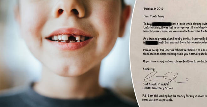 One headteacher's letter to the Tooth Fairy has gone viral