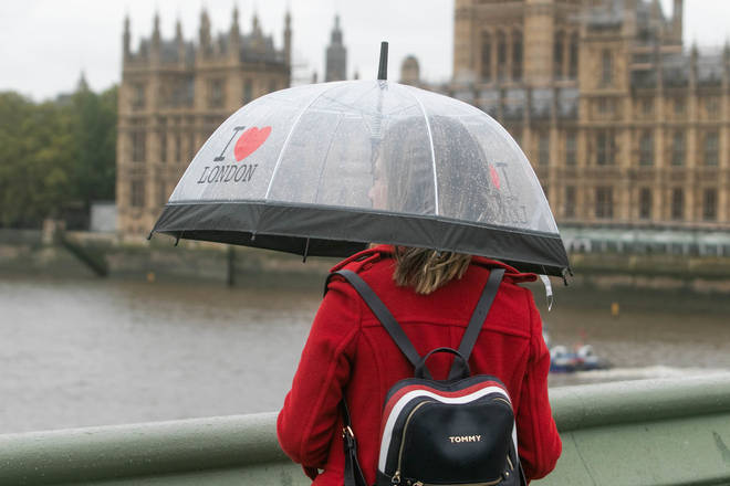 Rainy weather could affect parts of the country