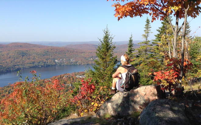 Laurentides is home to stunning scenery all year round