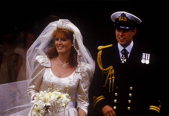 Princess Beatrice's mother wore the York Tiara on her wedding day