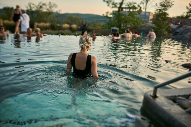 Nordik Spa-Nature is the biggest spa in north America