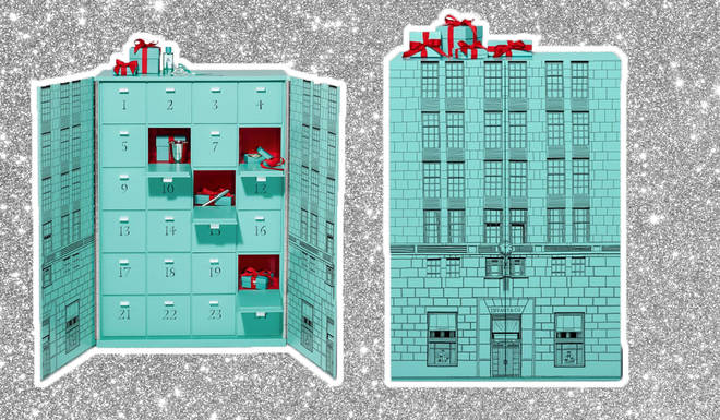 Tiffany & Co are selling an advent calendar like no other