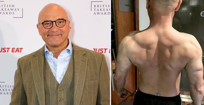 Gregg Wallace has shed a whopping three stone