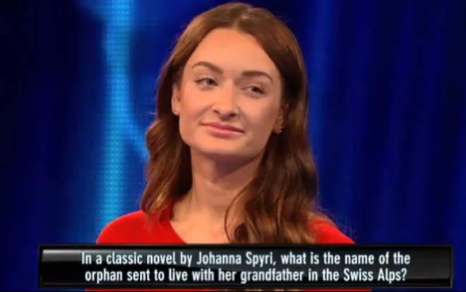 Viewers were baffled by her answer to the historical question