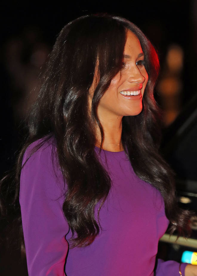 The Duchess of Sussex's hair appeared longer and thicker