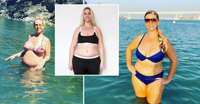 Josie Gibson has lost two stone since giving birth