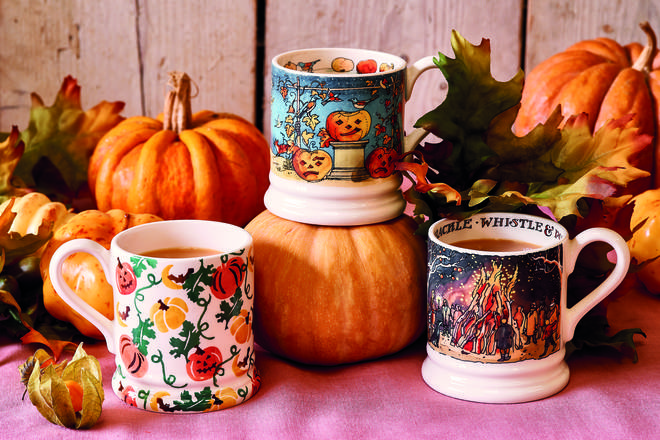 These mugs would be ideal for hot chocolate - or mulled wine on a cold evening