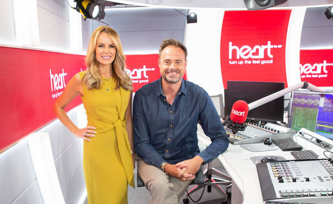 Heart Breakfast with Jamie Theakston and Amanda Holden is the biggest commercial radio breakfast show