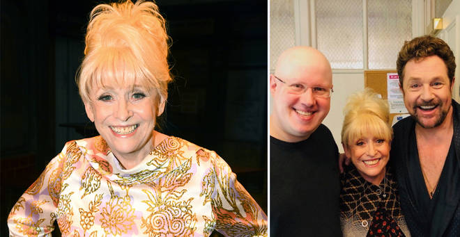 Barbara Windsor made an appearance at London's West End