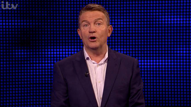 Even Bradley Walsh was left stumped by the question