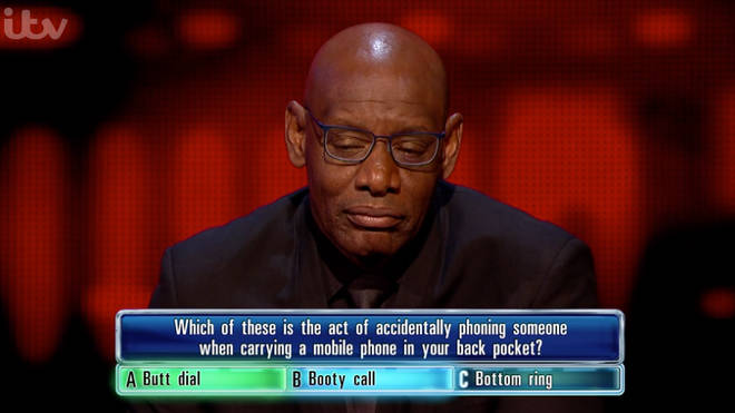 The Chaser got the question right, sending Alun home