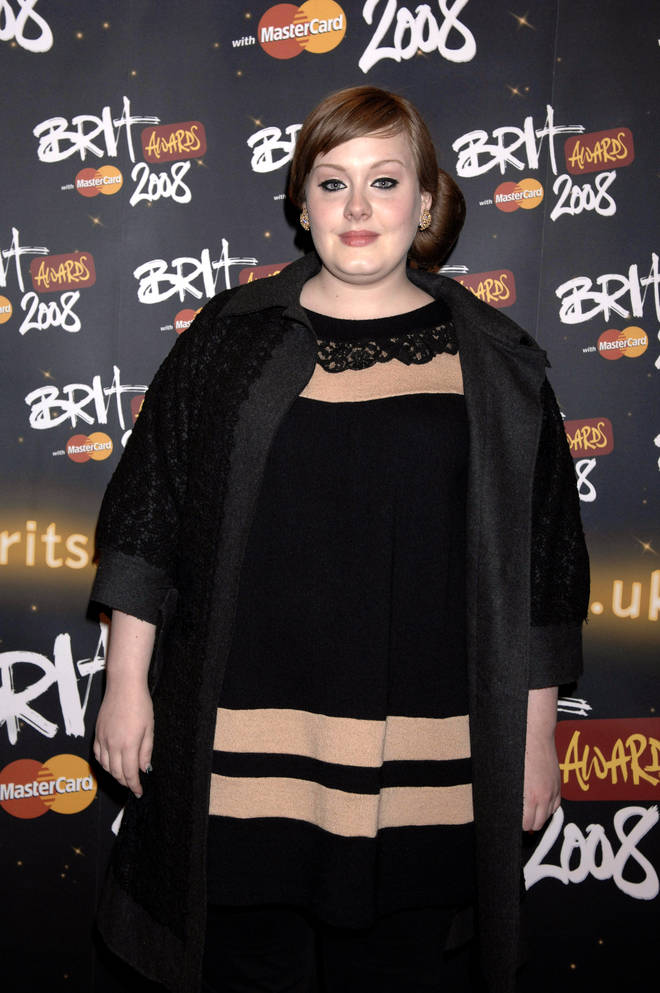 Adele has gradually lost weight over the years