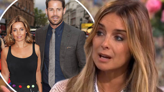 "Louise Redknapp said her separation from ex Jamie was a ""sad"" time"