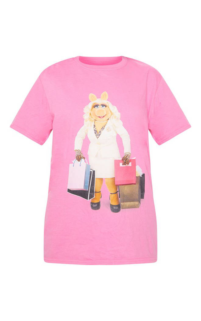 Disney Pink Miss Piggy t-shirt