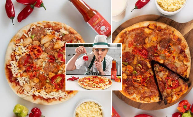 Morrisons have unveiled a Halloween roulette-style pizza where random slices are topped with ghost chillies.