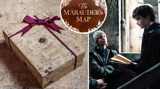 The prop wizards behind The Marauder's Map have launched a matching gift wrap.