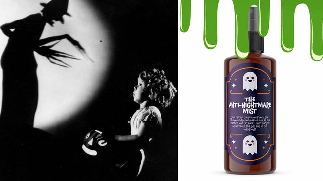 Parents can now buy a £4.95 'anti-nightmare mist' to help children sleep sweetly.
