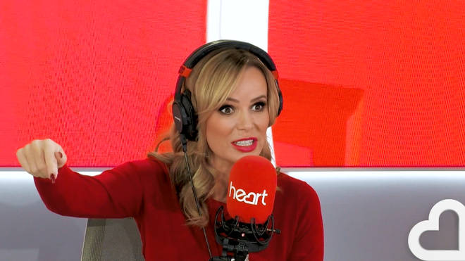 Amanda Holden broke her leg while taking part in an assault course on the sea