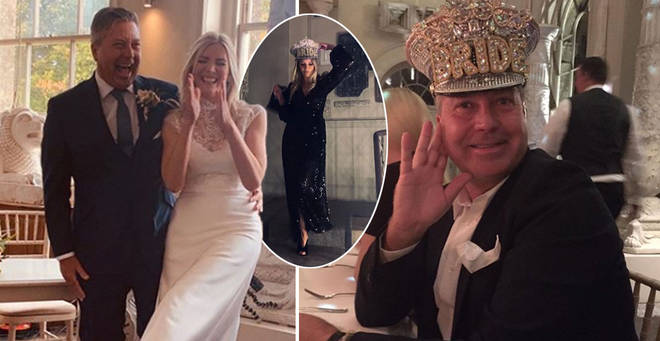 Lisa Faulkner and John Torode have given a look inside their wedding