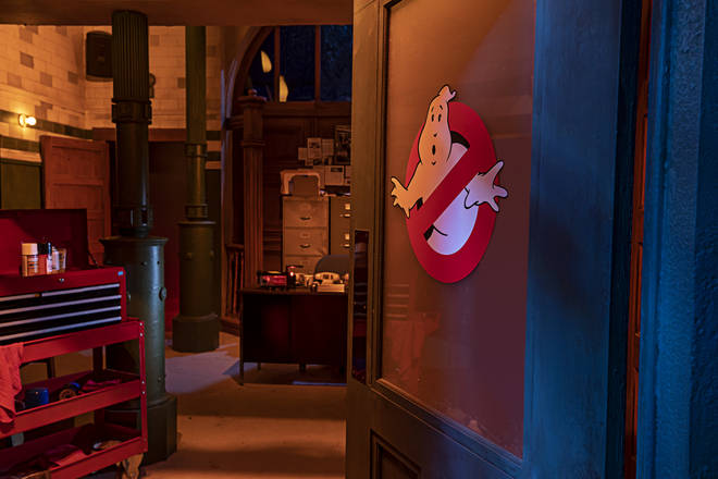 Ghostbusters fans will love this scare house