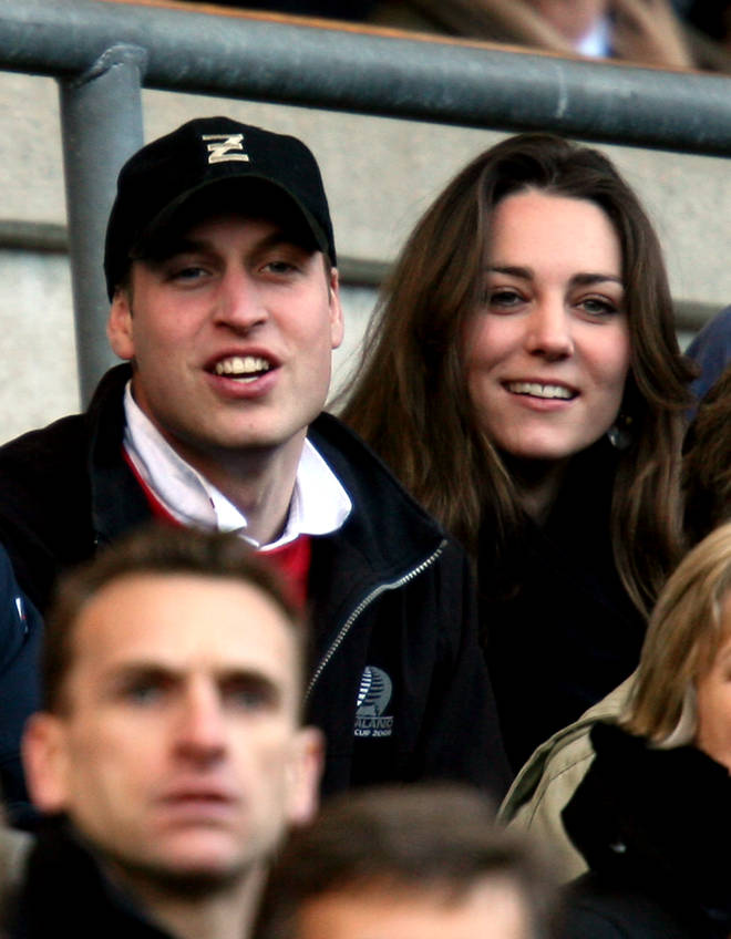Kate and William met in 2001 at University in Scotland
