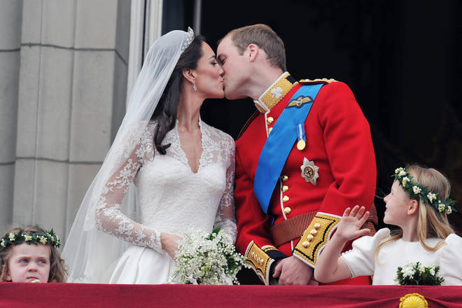 The Duke and Duchess of Cambridge married in 2011