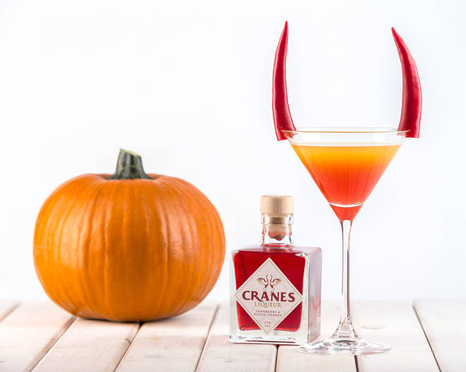 Spice-up your Halloween party with this tequila based cocktail